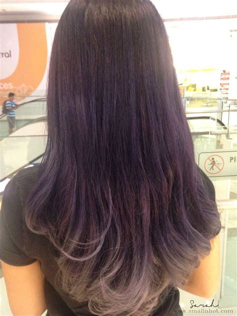 hair saloon a cut above hair in kl purple ombre hair a cut above restyle nu sentral