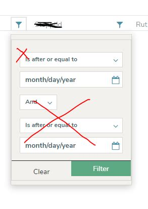 In Kendo Grid Angular 2 Filter Menu How To Hide The Extra Filter And The Operator Dropdown Kendo Grid Column Template Angular