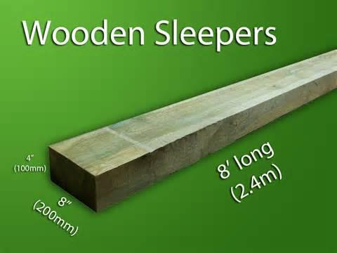 wooden sleepers bentinck fencing
