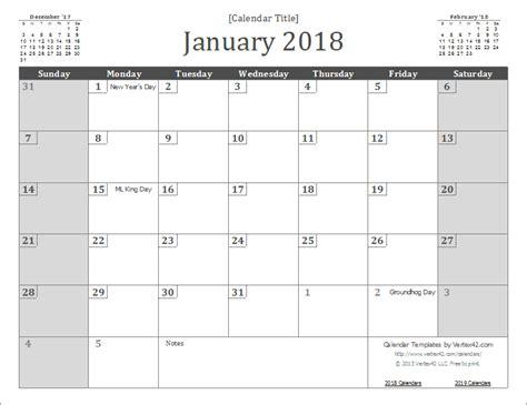 Calendar 2018 Docx Printable Calendar 25 Free Professional Calendar