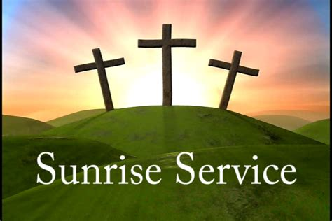 North west florida easter sunrise services