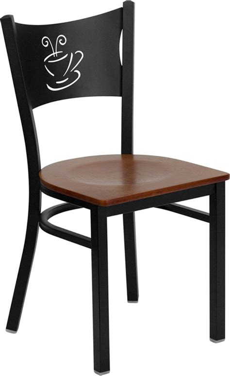 hercules commercial coffee house restaurant chair w