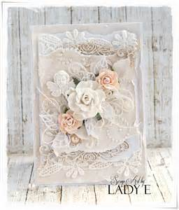 scrap art by lady e shabby chic wedding cards wild orchid crafts dt