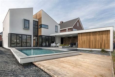 modern gorgeous house design located in the netherlands house daasdonklaan traditional dutch design meets modern