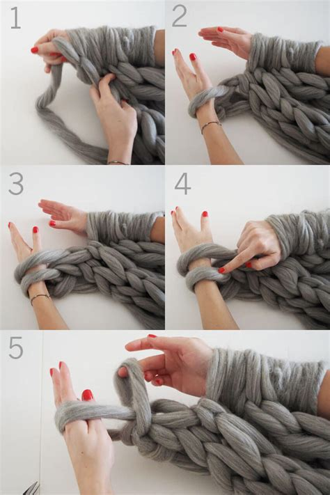 how to knit a blanket step by step knit an infinity scarf in 30 minutes homeyou