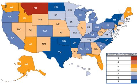 healthiest states in america ready or not 2009 trust for america s health