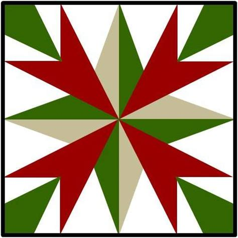 summer star barn quilt pattern please return to our