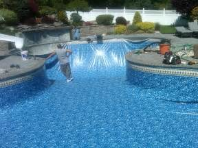 Do It Yourself Fire Pit Ideas - inground pool liner replacement diy