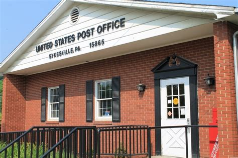 sykesville pa post office photo picture image
