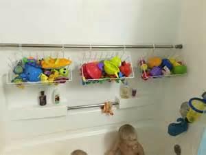 Bathroom Toy Storage Ideas by Bath Toy Organization Diy Ideas Pinterest