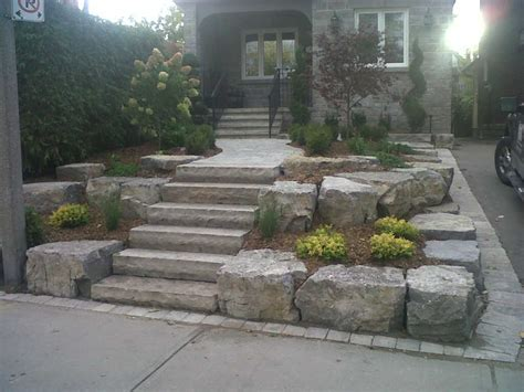 landscape stone work interface designs