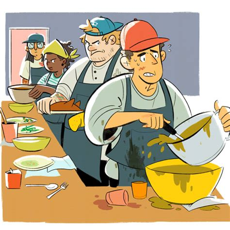 the cycle of a modern day chef we feast