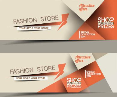 layout banner download free web banner design vector free vector download 12 146