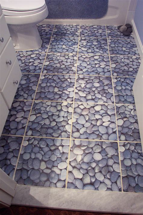 river rock bathroom floor river rock floor tile zyouhoukan net