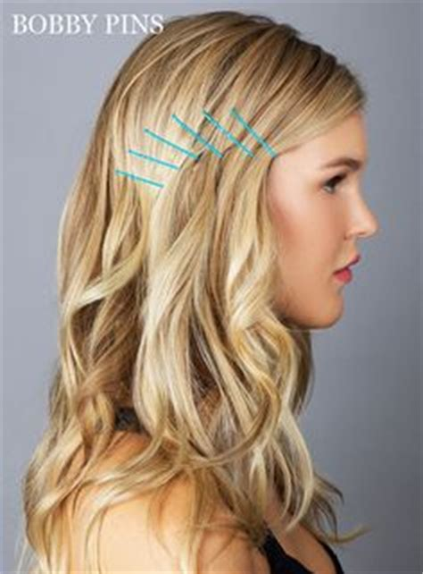 1000 images about bobby pin style on pinterest bobby