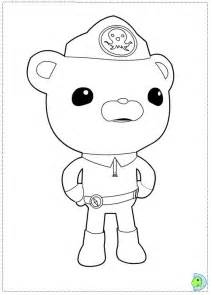 octonauts coloring pages free octonauts octopus coloring pages