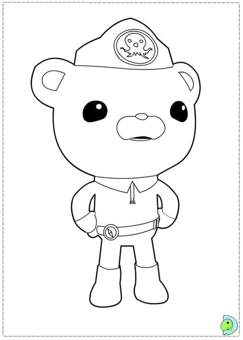 octonauts coloring pages free coloring pages of octonauts gup d