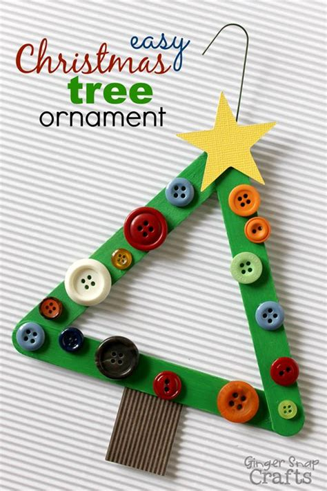 easy kid ornaments crafts for