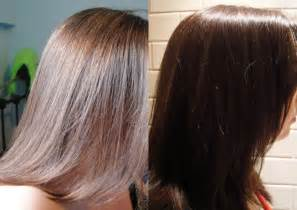 before and after to hair raw honey to lighten hair before and after dark brown hairs