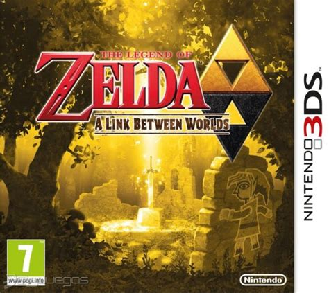 between the world and the legend of zelda a link between worlds para 3ds 3djuegos
