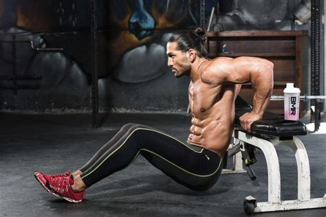 dips between benches arm yourself iron man magazine
