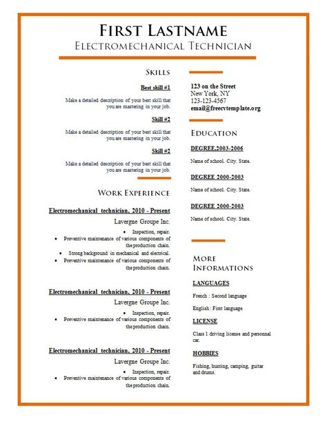 what is a good font for resume resume ideas
