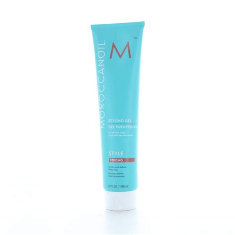 moroccanoil styling gel strong 180ml au moroccanoil moroccanoil styling gel strong 6oz 180ml ebay