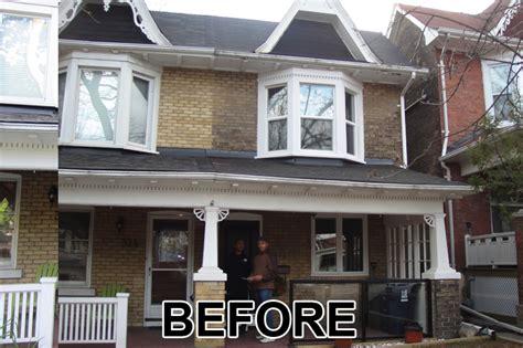 painting brick walls exterior home painters toronto 187 brick painting