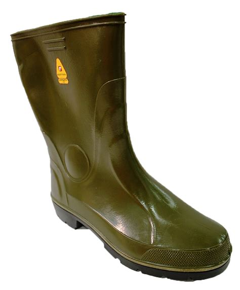 mens green boots boots mens gents wellingtons rainboots waterproof rubber