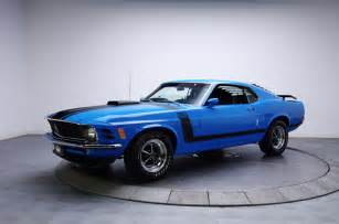 Black Mustang With Grabber Blue Stripes 1970 Ford Mustang Boss 302 Images Specs Interior Cars With Muscles