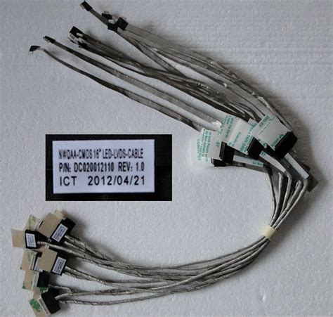toshiba a660 a665 a665d dc020012110 lcd cable laptop lcd led lvds cable ccfl backlight led