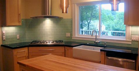 green kitchen backsplash robin s egg blue subway tile backsplash home design