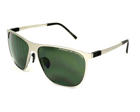 Brille Porsche Design by Porsche Design Sunglasses Gold With Grey Green Lenses P