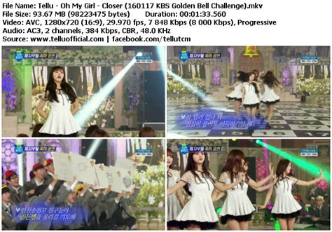 download mp3 closer oh my girl download perf oh my girl closer kbs gnewen bell