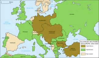 file alliances militaires en europe 1914 1918 fr svg