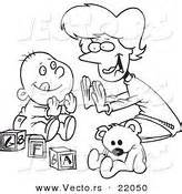 patty cake coloring page royalty free baby stock designs page 3