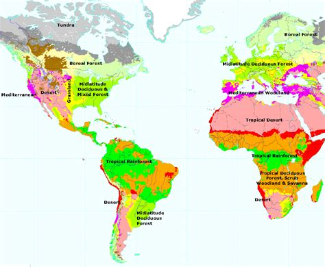 biome map with country names desert biome location map america desert map united