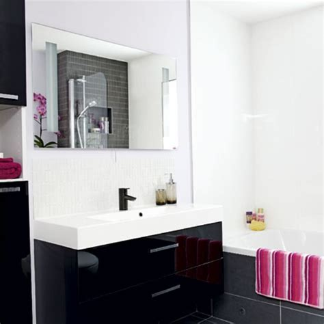 black and white bathroom bathroom design housetohome co uk black and white bathroom bathrooms design ideas