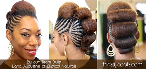 thirstyroots hairstyles bump updo hairstyles for black women hairstylegalleries com