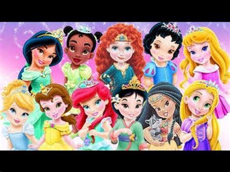 disney princesses les 2013237219 princesse disney petite youtube