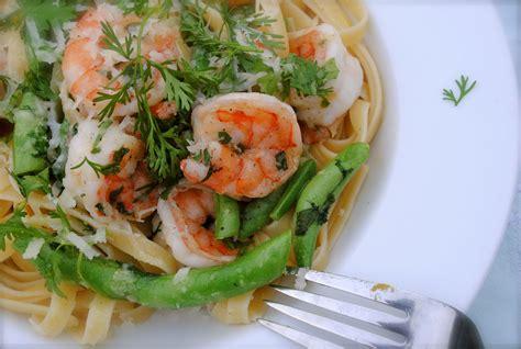 Garden Pasta by Garden Pasta With Seared Shrimp Bev Cooks
