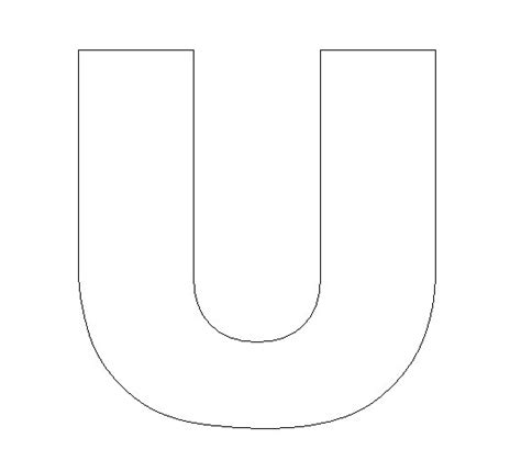 Letter U Crafts Preschool And Kindergarten Letter A Template For Preschool
