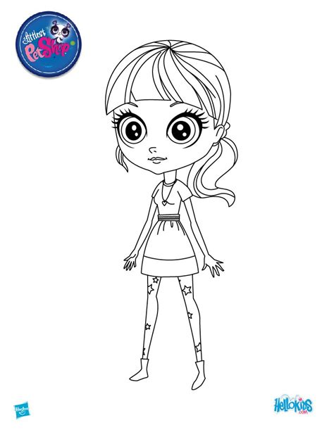 lps blythe coloring pages beautiful blythe coloring pages hellokids com