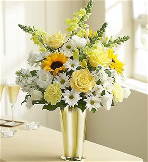 flowers arrangements for 50th anniversary anniversary arrangement as bridal wedding