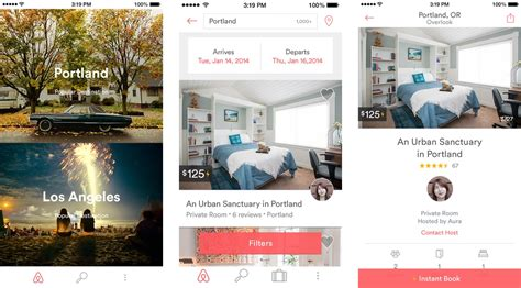 airbnb app how airbnb is changing the way we travel business datahand