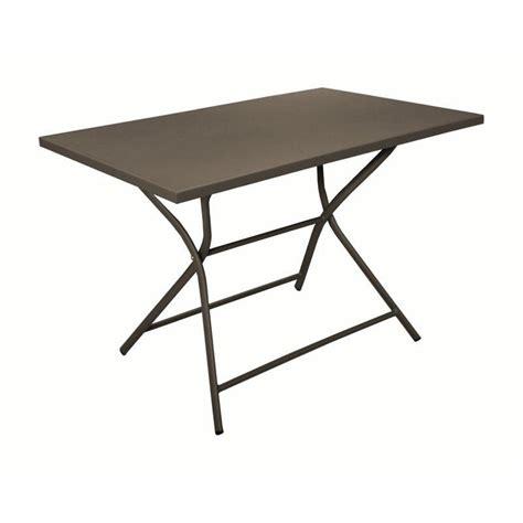 Table Bistrot Rectangulaire 505 by Gu 233 Ridon Win 110x70x73 Cm Ch 226 Ssis Aluminium Plateau Plein