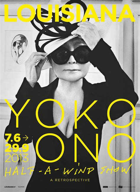 Plakat Yoko Ono by Poster From Yoko Ono S Louisiana Exhibition 2013
