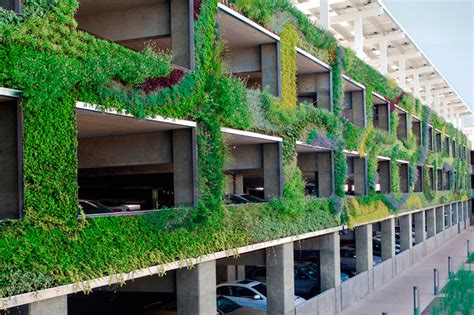 The Green Garage by Green Parking Designs Beautify City Living Dig This Design