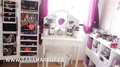 Bedroom Tour Chapter 1 Room Tour Mes Rangements Make Up Makeup Collection