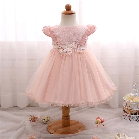Dress Flower Baby new baby flower dresses newborn baby clothes lace
